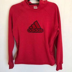 Adidas red hoodie. B-1